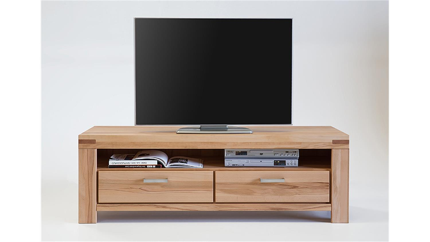 tv kommode kira tv board lowboard in kernbuche massiv ge lt. Black Bedroom Furniture Sets. Home Design Ideas