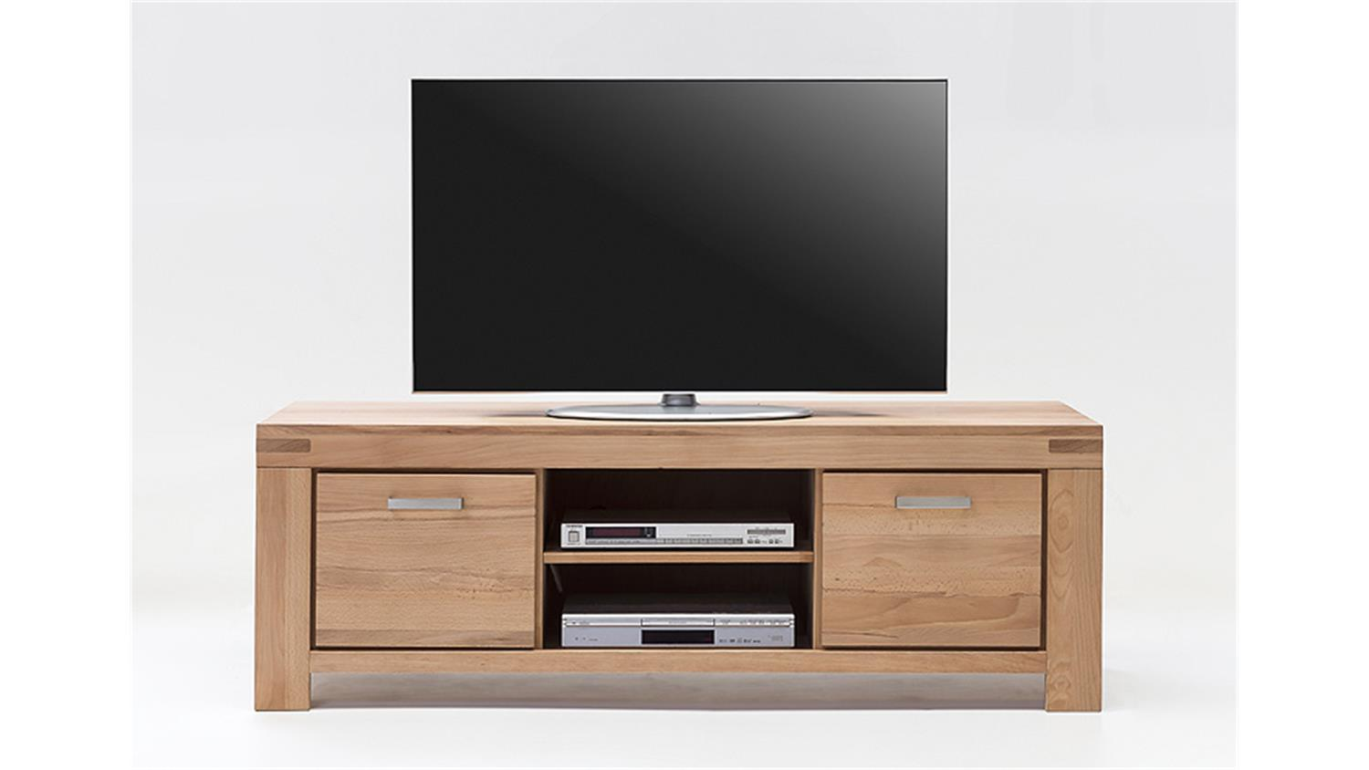 tv kommode 2 kira tv board in kernbuche massiv ge lt. Black Bedroom Furniture Sets. Home Design Ideas