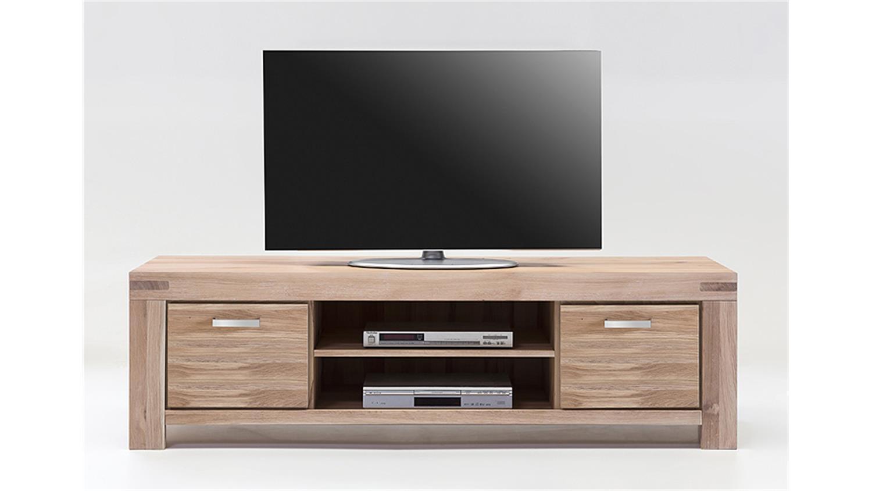 tv kommode 3 kira tv board in wildeiche massiv bianco. Black Bedroom Furniture Sets. Home Design Ideas