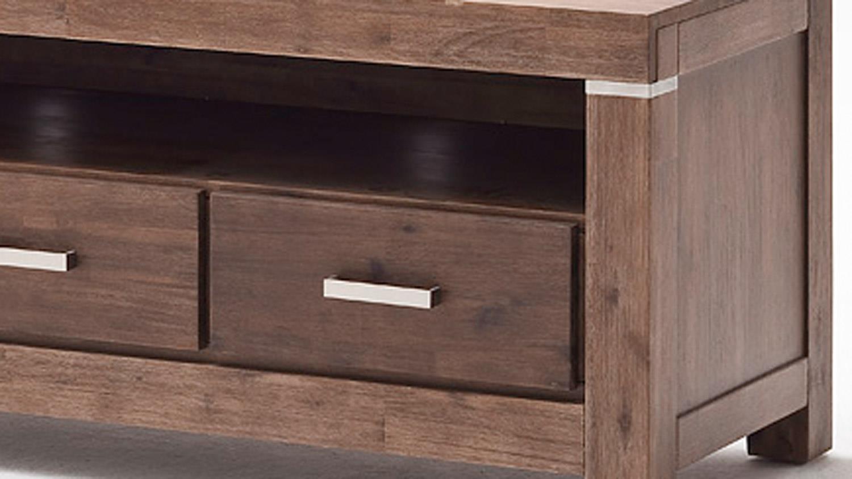 tv board victoria lowboard in akazie massiv braun. Black Bedroom Furniture Sets. Home Design Ideas