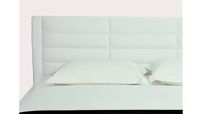 polsterbett sonic wei inkl led lichtrahmen 180x200. Black Bedroom Furniture Sets. Home Design Ideas