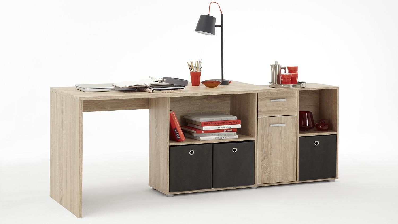 schreibtisch lexx tisch b rotisch in sonoma eiche s gerau. Black Bedroom Furniture Sets. Home Design Ideas
