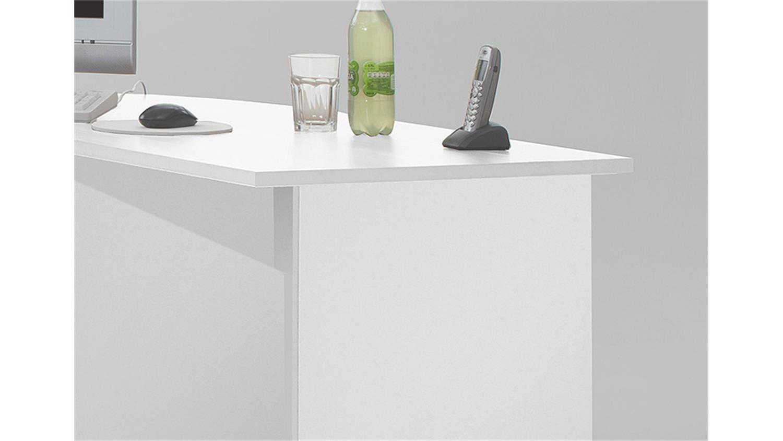 schreibtisch kombi till pc tisch eckschreibtisch wei. Black Bedroom Furniture Sets. Home Design Ideas