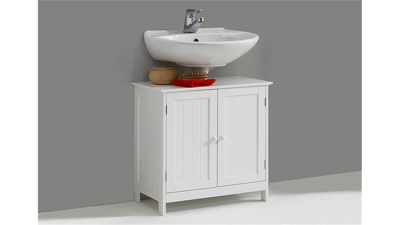 waschbeckenunterschrank stockholm wei lack. Black Bedroom Furniture Sets. Home Design Ideas