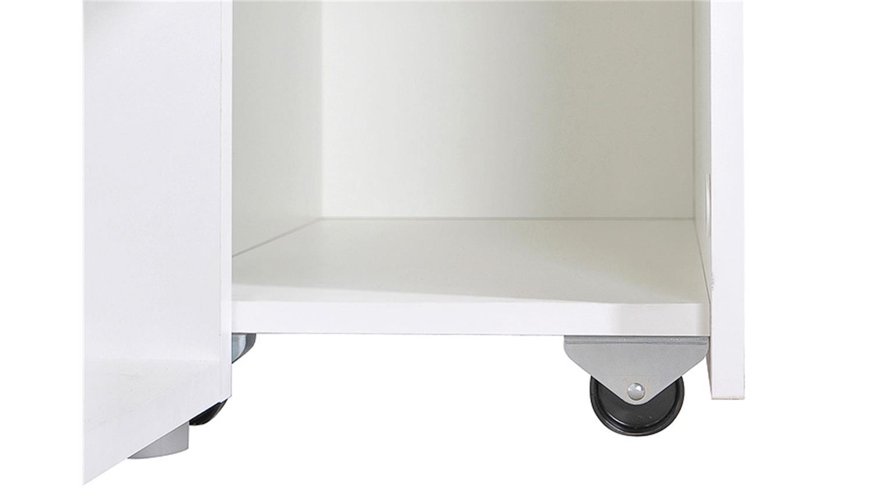 bett carlo einzelbett kinderzimmerm bel 90x200 in wei. Black Bedroom Furniture Sets. Home Design Ideas