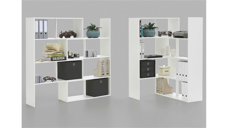 Mobel Akut Faltbox 4er Set In Weiss Aufbewahrungsbox Fur Raumteiler