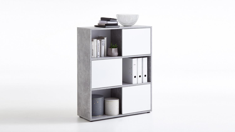 wei hochglanz regal amazing regal weiss hochglanz woody mabel bucherregal grau erstaunlich. Black Bedroom Furniture Sets. Home Design Ideas