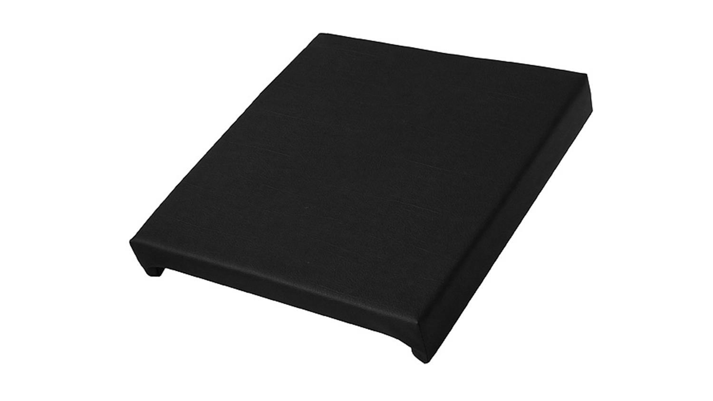 klemmkissen sitzkissen f r b nke in lederlook schwarz. Black Bedroom Furniture Sets. Home Design Ideas