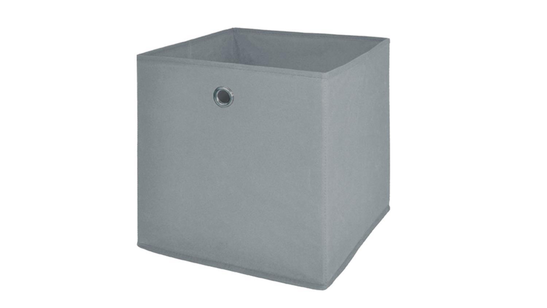 Faltbox Flori 1 Korb Regal Aufbewahrungsbox In Schlamm Grau