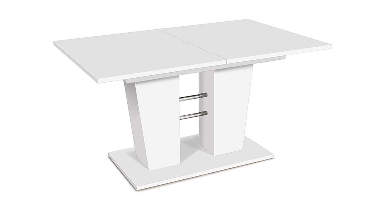esstisch breda ausziehbar wei 140 180 x90 cm. Black Bedroom Furniture Sets. Home Design Ideas