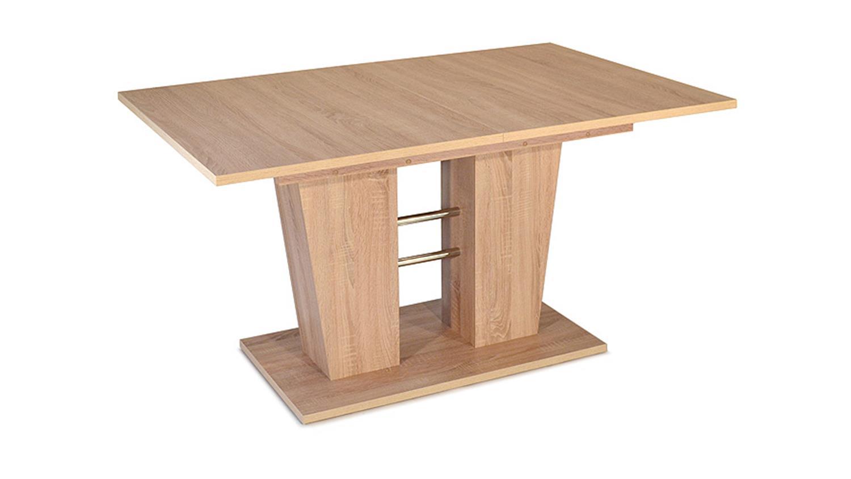 esstisch breda ausziehbar sonoma eiche 140 180 x90 cm. Black Bedroom Furniture Sets. Home Design Ideas