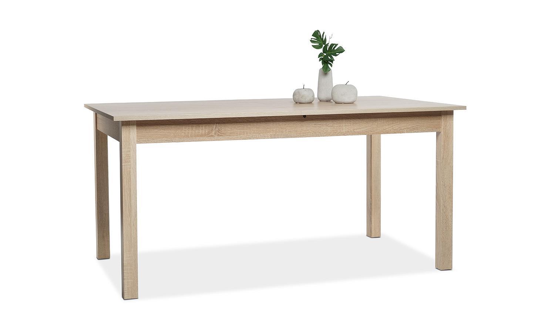 Esstisch coburg tisch k chentisch sonoma eiche ausziehbar for Tisch eiche ausziehbar