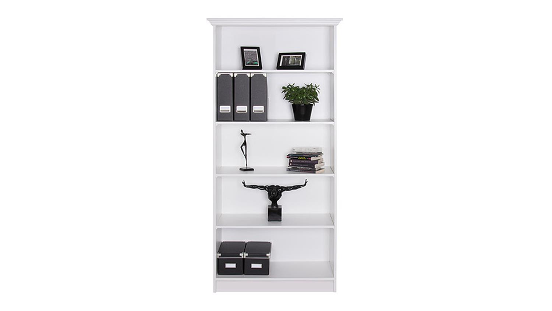 regal landwood 22 wei b 80 cm landhausstil. Black Bedroom Furniture Sets. Home Design Ideas