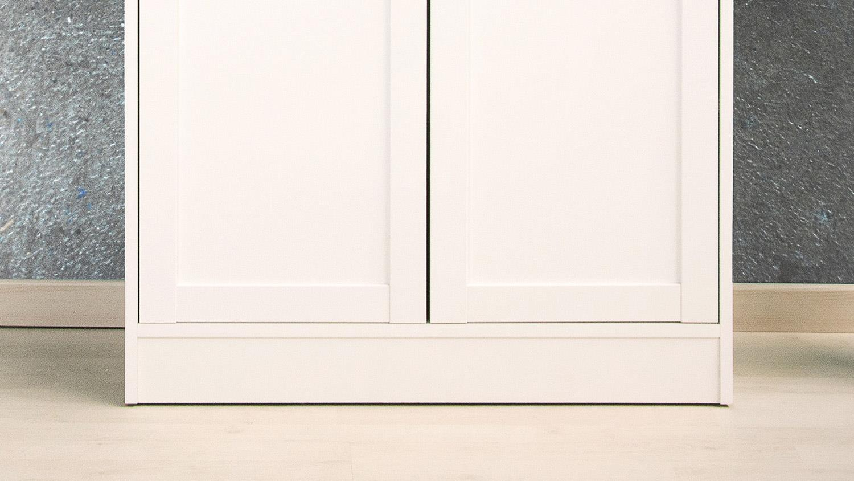 kommode landhausstil landwood stauraumelement wei mit 2 t ren. Black Bedroom Furniture Sets. Home Design Ideas
