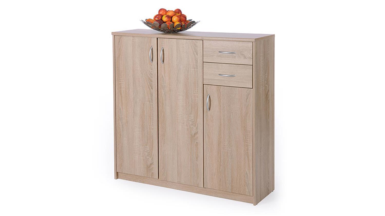 highboard kiel 1 sonoma eiche 3 t ren und 2 schubk sten. Black Bedroom Furniture Sets. Home Design Ideas