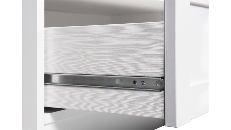 highboard landwood 53 in wei dekor landhausstil. Black Bedroom Furniture Sets. Home Design Ideas