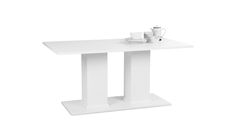 tisch landwood 55 in wei 160x90 cm im landhausstil. Black Bedroom Furniture Sets. Home Design Ideas