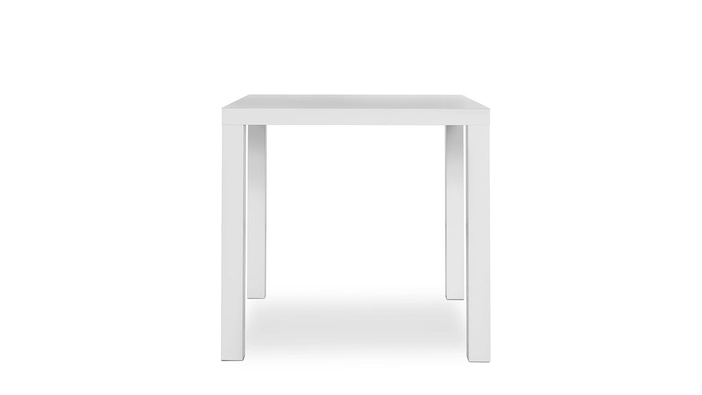 esstisch prino mdf in wei matt lackiert 80x80 cm. Black Bedroom Furniture Sets. Home Design Ideas