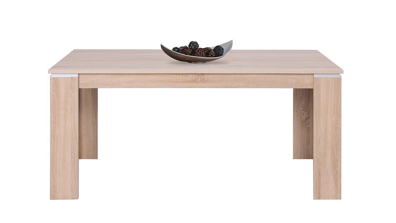 esstisch lido in eiche sonoma ausziehbar 160 240 cm. Black Bedroom Furniture Sets. Home Design Ideas