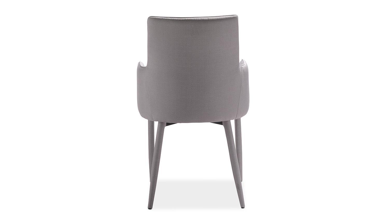 stuhl gala esszimmerstuhl komplett in stoff grau. Black Bedroom Furniture Sets. Home Design Ideas
