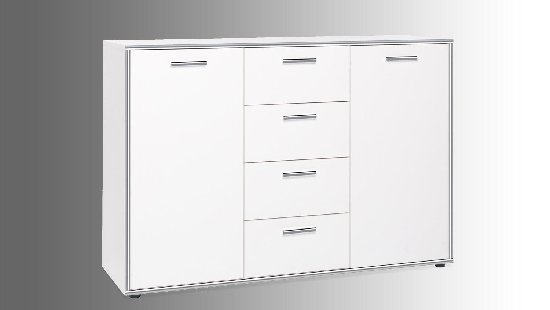 kommode weiss chrom inspirierendes design f r wohnm bel. Black Bedroom Furniture Sets. Home Design Ideas
