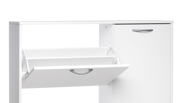 schuhschrank mainz 3 schuhkipper in wei dekor erweiterung. Black Bedroom Furniture Sets. Home Design Ideas