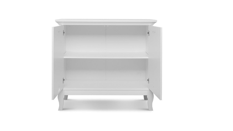 Kommode PROVENCE Sideboard Anrichte Schrank in weiß Barock-Look 97 cm