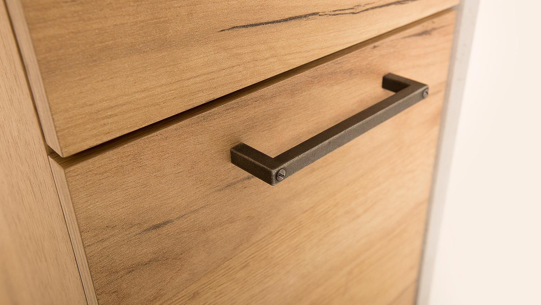 b roset 1 momo schreibtisch regal home office beton grau honig eiche. Black Bedroom Furniture Sets. Home Design Ideas