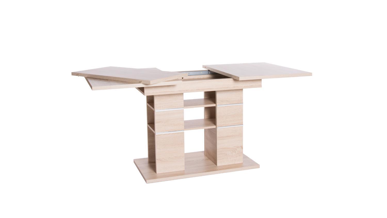 Esstisch PIXEL Tisch Küchentisch Esszimmertisch Sonoma Eiche 120-160