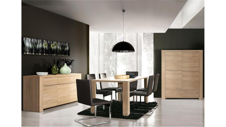 sideboard calpe 168cm sonoma eiche s gerau. Black Bedroom Furniture Sets. Home Design Ideas