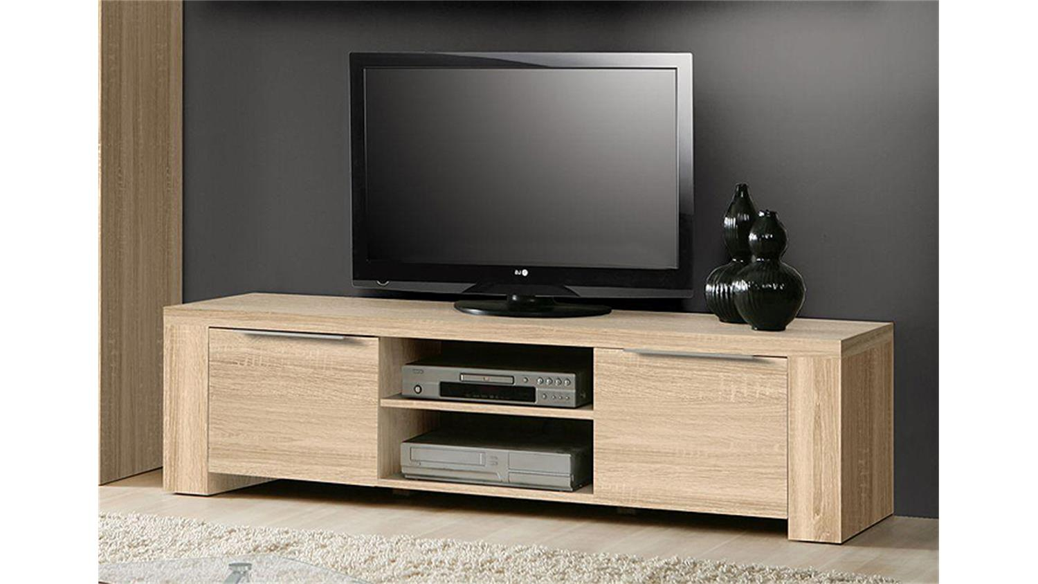 tv board calpe lowboard wohnzimmer in sonoma eiche s gerau. Black Bedroom Furniture Sets. Home Design Ideas