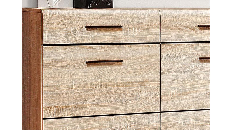 h ngeschuhschrank combino sonoma denver eiche wenge. Black Bedroom Furniture Sets. Home Design Ideas