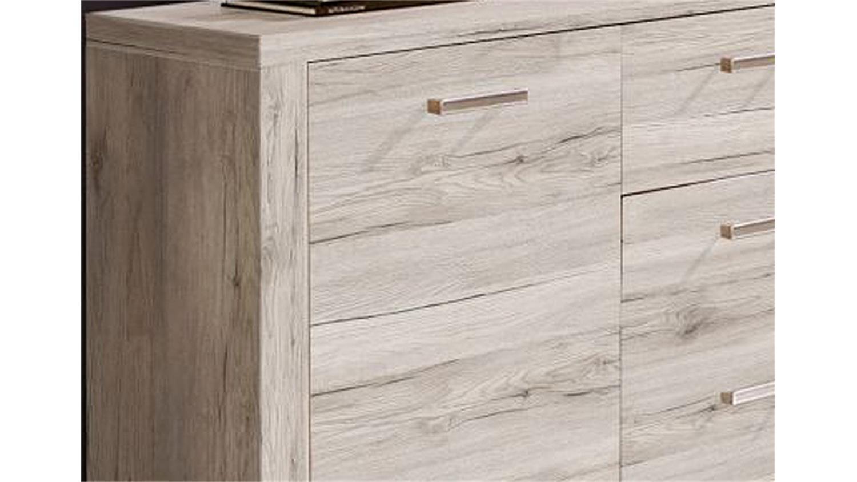 sideboard portland kommode anrichte in eiche antik dekor. Black Bedroom Furniture Sets. Home Design Ideas