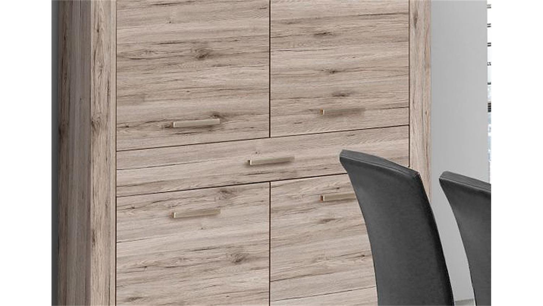 Roller Kommode Sienna - Weiß Hochglanz-Weiß - 115 Cm Breit 2021