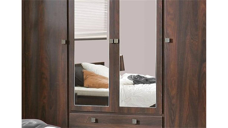 schlafzimmer set indigo schrank und bett in eiche durance. Black Bedroom Furniture Sets. Home Design Ideas