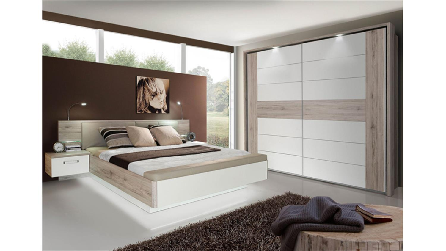 schlafzimmer sandeiche interessante ideen. Black Bedroom Furniture Sets. Home Design Ideas