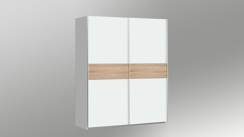 schwebet renschrank winner schrank in wei und sonoma. Black Bedroom Furniture Sets. Home Design Ideas