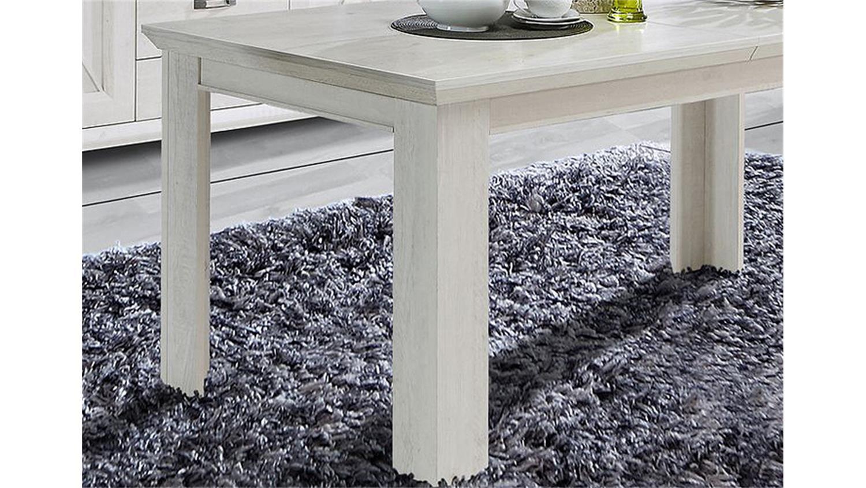 Esstisch Kashmir Tisch Esszimmertisch In Pinie Weiss 160 205