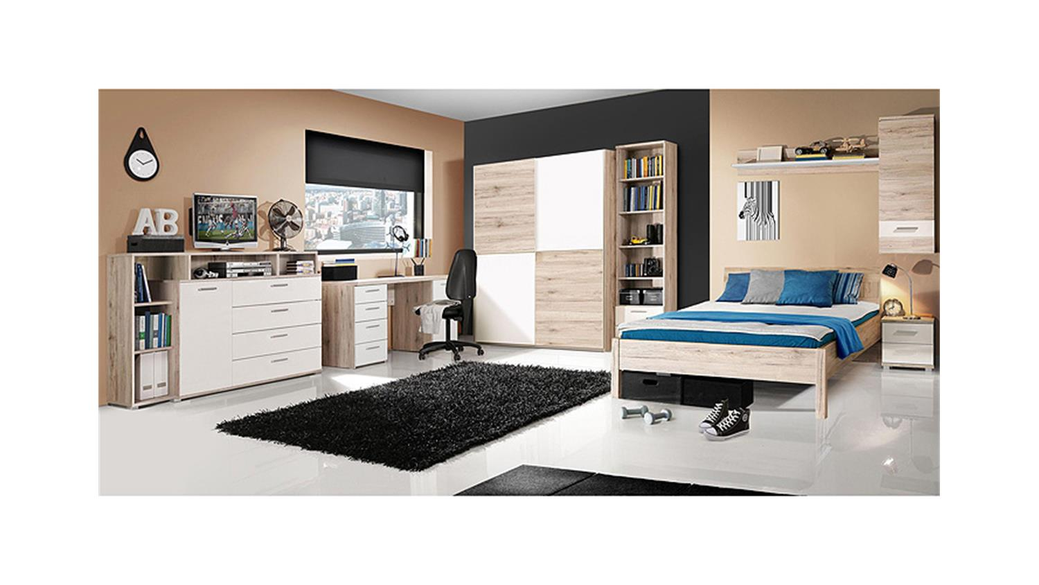 schrank 150 cm breit wei e kinderkleiderschr nke online. Black Bedroom Furniture Sets. Home Design Ideas