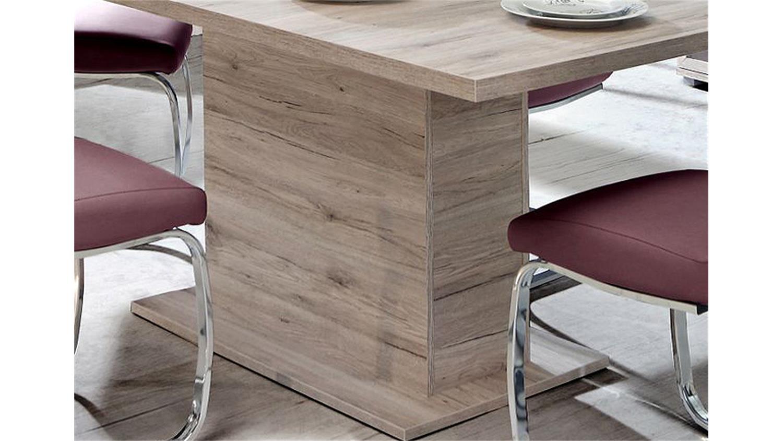 esstisch beach tisch esszimmertisch sandeiche synconauszug. Black Bedroom Furniture Sets. Home Design Ideas