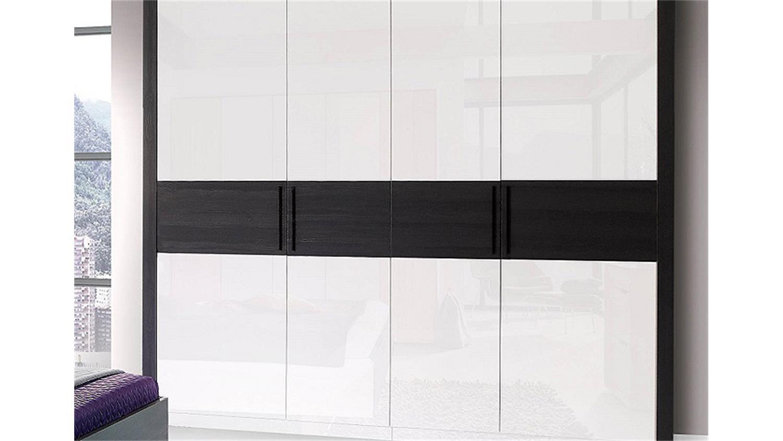 kleiderschrank wei schwarz hochglanz. Black Bedroom Furniture Sets. Home Design Ideas