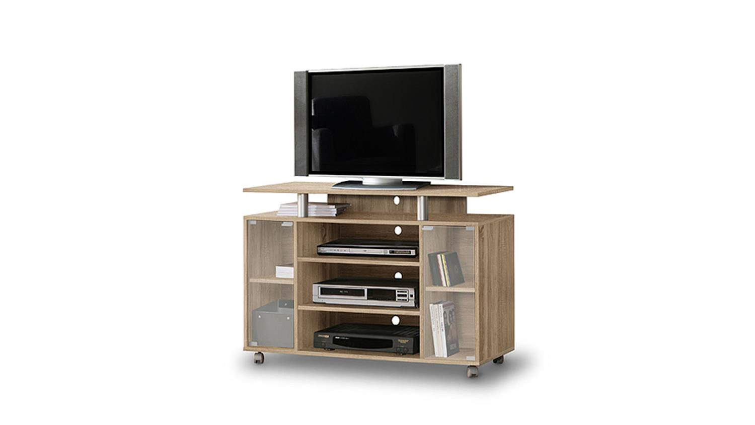 tv schrank auf rollen inspirierendes design. Black Bedroom Furniture Sets. Home Design Ideas