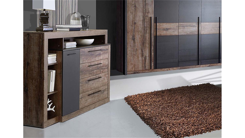 sideboard bellevue kommode schwarzeiche und schlammeiche. Black Bedroom Furniture Sets. Home Design Ideas
