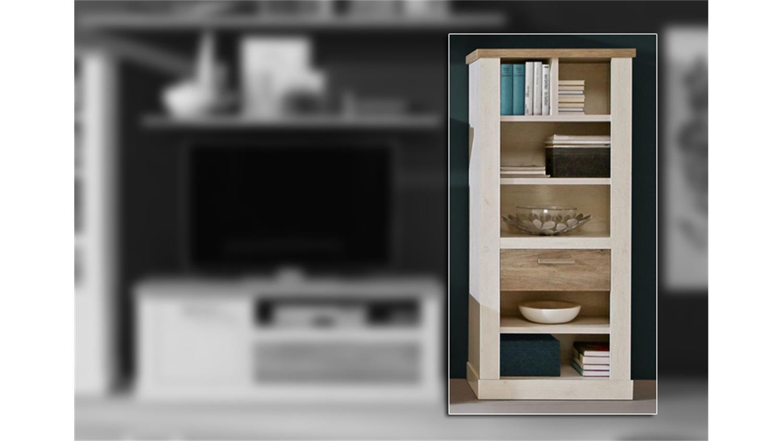 b cherregal pinie m bel design idee f r sie. Black Bedroom Furniture Sets. Home Design Ideas
