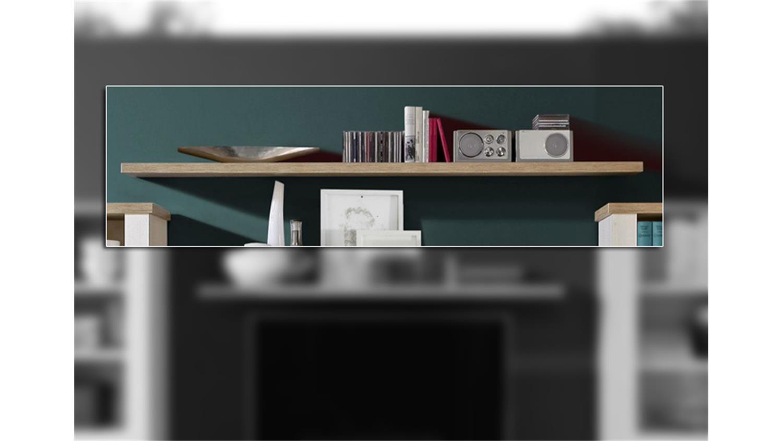 wandboard duro wandregal regalboard eiche antik 200 cm. Black Bedroom Furniture Sets. Home Design Ideas