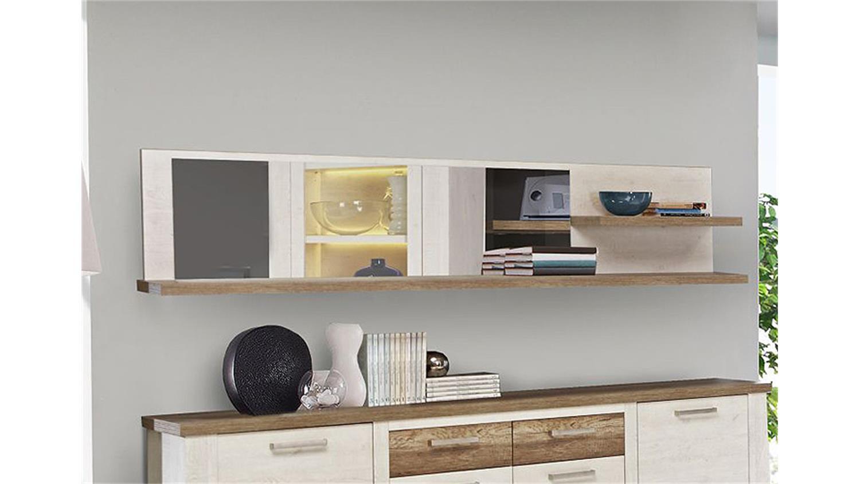 wandregal duro wandboard paneel pinie wei eiche antik. Black Bedroom Furniture Sets. Home Design Ideas