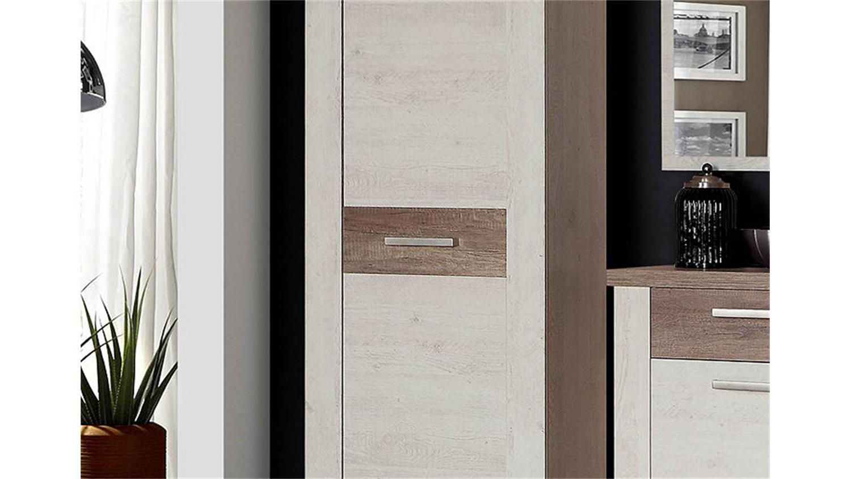 garderobenschrank duro kleiderschrank pinie wei eiche antik. Black Bedroom Furniture Sets. Home Design Ideas