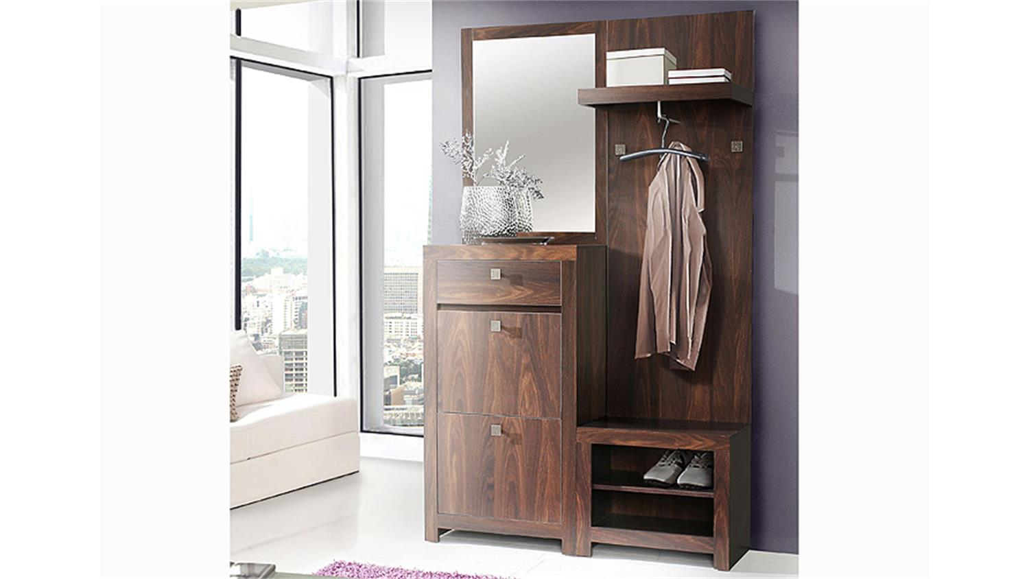 schuhschrank garderobe bestseller shop f r m bel und. Black Bedroom Furniture Sets. Home Design Ideas
