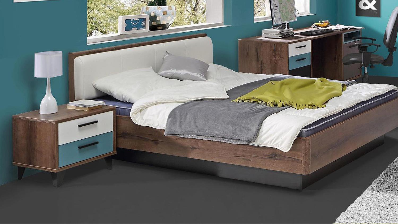 nachkommode raven nako schlammeiche wei gr n grau. Black Bedroom Furniture Sets. Home Design Ideas