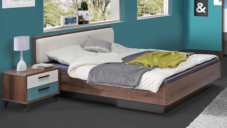 jugendzimmer 2 raven in schlammeiche wei schwarz gr n grau. Black Bedroom Furniture Sets. Home Design Ideas